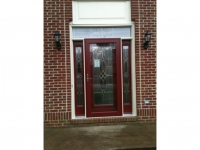 Homecraft-ProVia-Entry Door with Sidelites, Transom, and Storm Door
