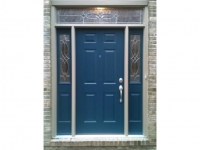 Homecraft-ProVia-Entry Door with Sidelites and Transom
