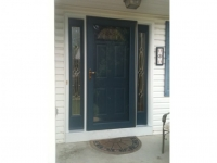 Homecraft-ProVia-Entry Door with Sidelites and Storm Door