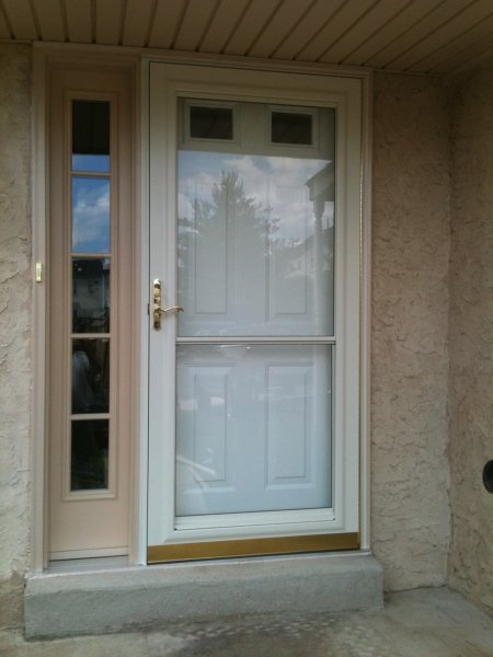 Storm Doors Gallery Replacement Windows Vinyl Siding