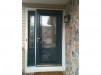 Homecraft-ProVia-Entry Door with Single Sidelite and Storm Door