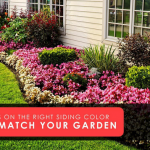 Tips on The Right Siding Color to Match Your Garden