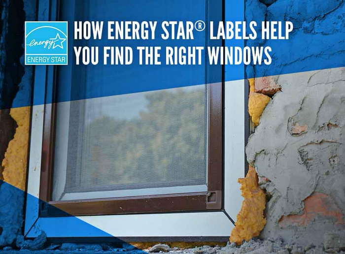 How ENERGY STAR® Labels Help You Find the Right Windows